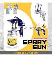 GS OPTIMUS SPRAY GUN AIRBRUSH PAINTING TOOL BLEEDER TYPE 1.5MM NOZZLE / 1000ML / 125ML VOLUME / 600CC PLASTIC CONTAINER