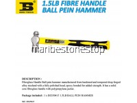 1.5LB FIBRE HANDLE BALL PEIN HAMMER