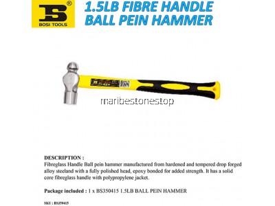 1.5LB FIBRE HANDLE BALL PEIN HAMMER