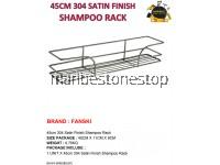 45CM 304 SATIN FINISH SHAMPOO RACK