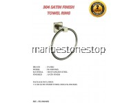 304 SATIN FINISH TOWEL RING FK-304106SS