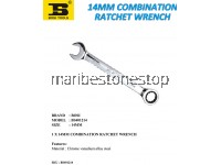 14MM COMBINATION RATCHET WRENCH
