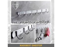 6 HOOK STAINLESS STEEL CLOTH HANGER FK-9306