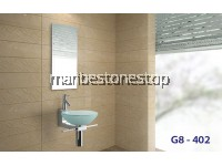 ART BASIN STAINLESS STEEL STAND WITH TOWEL BAR G8-402