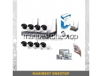 8 CHANNEL WIRELESS IP CCTV