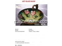 1 X ART GLASS BASIN  GS55-RC36