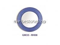 ROUND ARTISTIC MIRROR GM33-RH08