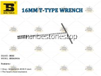 16MM T-TYPE WRENCH