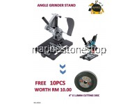 ANGLE GRINDER STAND FREE 10PCS CUTTING DISC