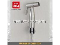 304 STAINLESS STEEL HAND BIDET FOR TOILET BATHROOM