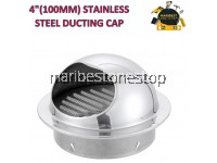 "4"" (100MM) STAINLESS STEEL DUCTING CAP"