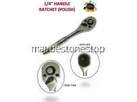 "1/4"" HANDLE RATCHET (POLISH)"