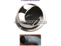 "12"" STAINLESS STEEL DUCTING CAP"