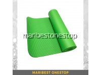 10mm Non Slip NBR Yoga Mat - Green