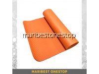 10mm Non Slip NBR Yoga Mat  - Orange