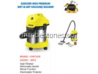WD3 PREMIUM KARCHER MULTI-PURPOSE (WET/DRY/BLOWER) VACUUM CLEANER 1000W