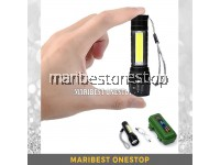 3 Mode Zoom W513 USB Rechargeable High Power Mini LED Torchlight OR Solar Led Wall Light