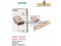 69591300 5PCS KARCHER FILTER BAG