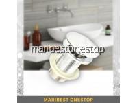 65mm Brass Bathroom Bath Sink Vessel Basin Pop Up Waste