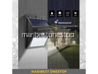 20 - 118 Led COB Waterproof PIR Solar Sensor Wall Light Motion Sensor