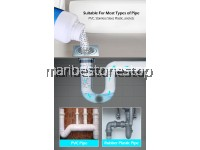 Clog Remover Drain Pipe Basin Cleaner Clogged Drainage Remover Powder Removing Blockage 110g