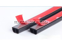 4Meter B-Type Air Tight Self-Adhesive Sound & Wind Proof Rubber Stripe Car Door Seal