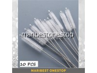 10Pcs Reusable Straw Brush For Stainless Steel Straw