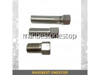 "Stainless Steel Tap Connector Extension 1/2""F X 1/2"" M"