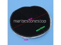 180mm Soft Wool Buffing Pad Car Waxing Polishing Car Care Tool Kit