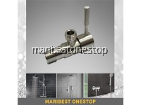 ATOCCO SUS304 Stainless Steel Angle Valve for Bathroom Shower