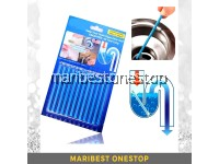 12 Pcs Sani Stick Pipe Deodorizer Drain Cleaning Sanitation Sticks Clogs And Odors Eliminator