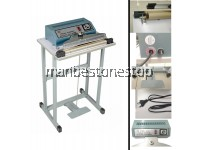 Step Sealer Machine Impulse Foot Sealer Pedal Machine Vertical Sealing Type Quick Packing In 3Sizes For Industrial and Non-Industrial