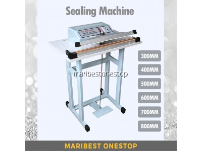 Step Sealer Machine Impulse Foot Sealer Pedal Machine Vertical Sealing Type Quick Packing In 6 Sizes For Industrial and Non-Industrial