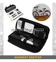 16 in 1 Bicycle Bike Tire Repair Kit Combination Tool Set