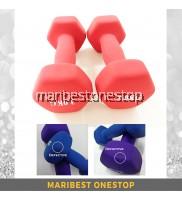 Defective Fitness Neoprene Dumbbells 3kg - 2pcs/pair (SCE800423) Random Colour