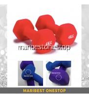 Defective Fitness Neoprene Dumbbells 4kg - 2pcs/pair (SCE800424) Random Colour