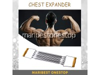 Multifunctional Spring Chest Expander Wooden Handle Chest Puller