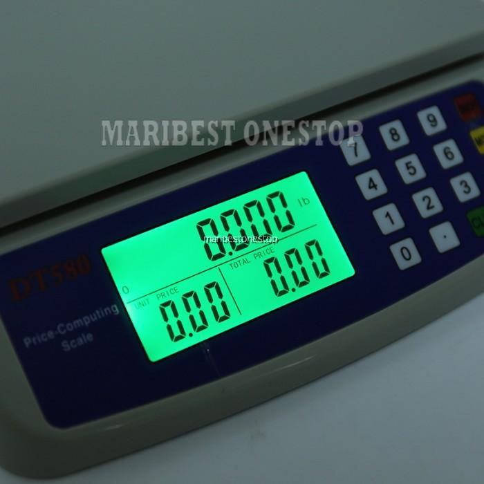 40kg Electronic Mini Digital Price Computing Weighting
