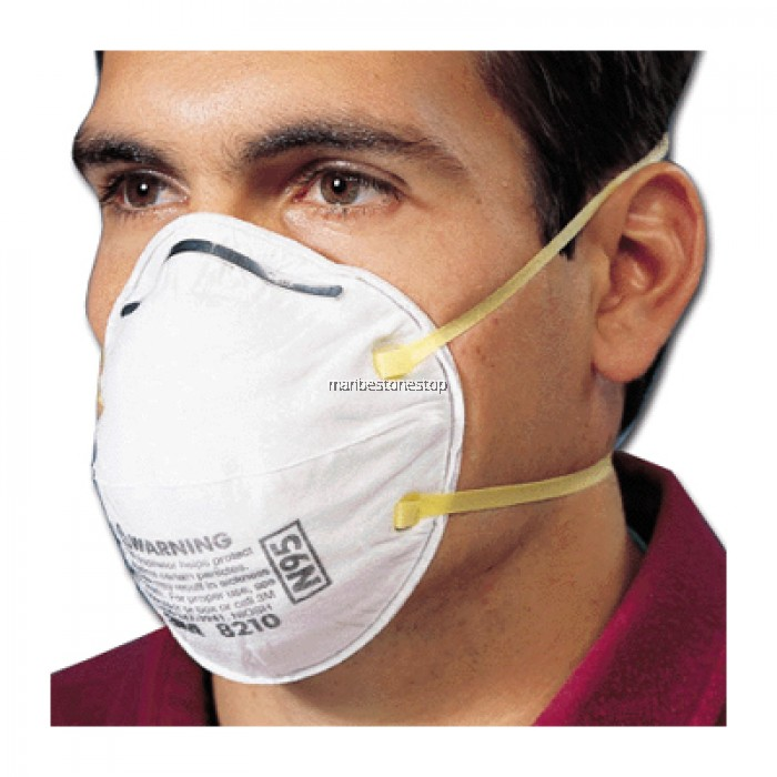 Dust Particulate 3m Respirator 8210 Mask 5pcs N95