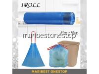 15 Pieces Drawstring Trash Bag Garbage Bag Rubbish Bag Plastic Bag