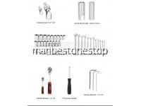 "SATAGOOD G-10008 61PCS ½""  &  ¼"" Dr Socket Ratchet Combination Spanner Wrench Set Repair Tool Kit"