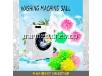 10Pcs 4CM Washing Machine Ball Laundry Ball Solid Colorful Reusable Ball Tangle-Free Ball Magic Ball