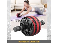 RED AB ROLLER 9219 FOR ABS TRAINING CORE MUSCLE ROLLER WHEEL