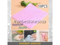10pcs Multipurpose Microfiber Kitchen Cleaning Soft Dish Cloth Kitchen Towel 25cm x 27cm