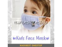 Kids Washable Cotton Face Mask for Children Anti Dust Anti Flu