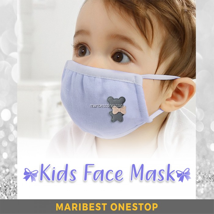 Flu Washable Face Anti Children Kids For Dust Cotton Mask