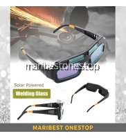 Solar Powered Auto-Darkening Welding Spectacle Glass Goggle Welding Glass Eyewear