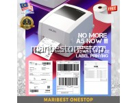 DELI DL-888D THERMAL BARCODE PRINTER 20-108MM LABEL PRINTER SHIPPING LABEL PARCEL EXPRESS WAYBILL STICKER CAN PRINT A6