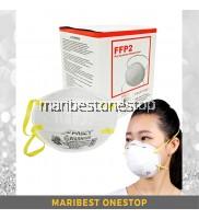 20 PCS FANCY N95 Diposable Particulate Respirator Haze & Smoke Flu Prevention Topeng Jerebu Habuk equivalent to 3M 8210
