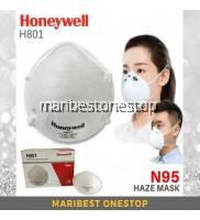 HONEYWELL H801 N95 Diposable Particulate Respirator Haze & Smoke Flu Prevention Topeng Jerebu Habuk equavalent 3m 8210